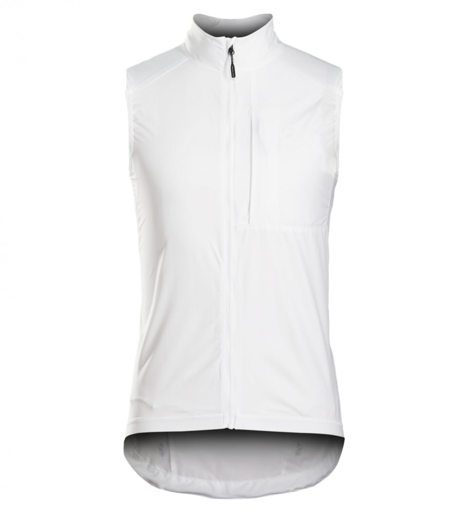Bontrager Vest Circuit Windshell Medium White