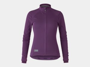 Bontrager Jacket Velocis Softshell Women X-Small Mulberry