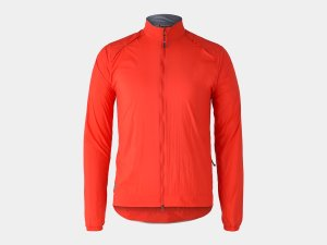 Bontrager Jacke Circuit Wind S Radioactive Red