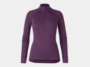 Bontrager Trikot Vella Thermal Long Sleeve XS Mulberry