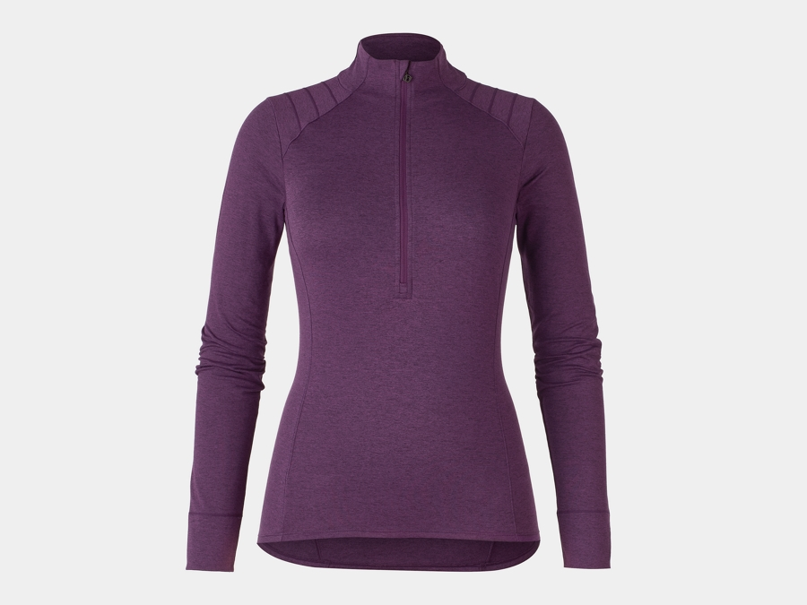 Bontrager Trikot Vella Thermal Long Sleeve S Mulberry
