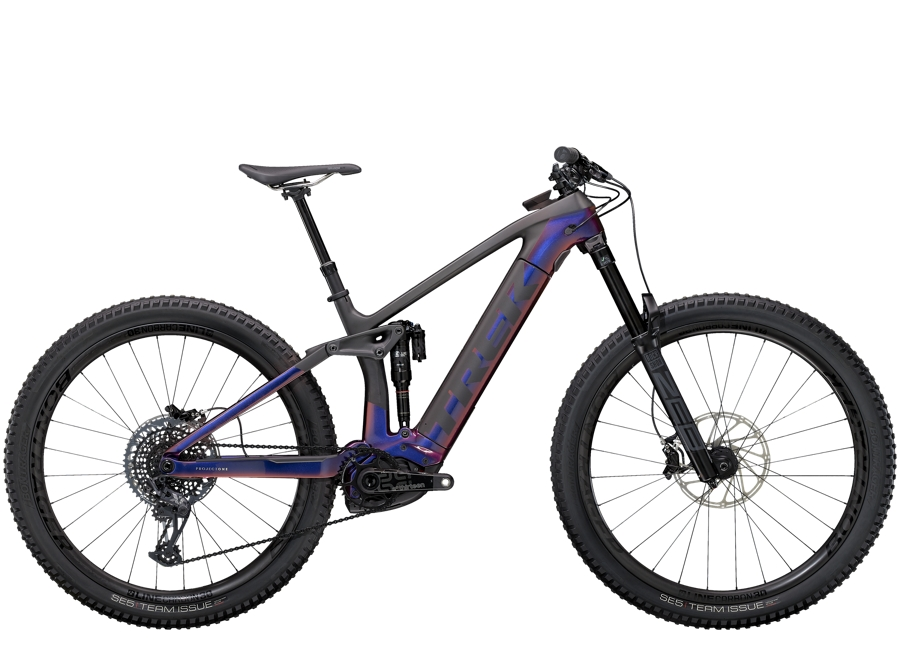 Trek Rail 9.9 L Gloss Purple Phaze/Matte Raw Carbon