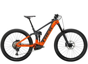Trek Rail 9.8 XT M Solid Charcoal/Radioactive Orange