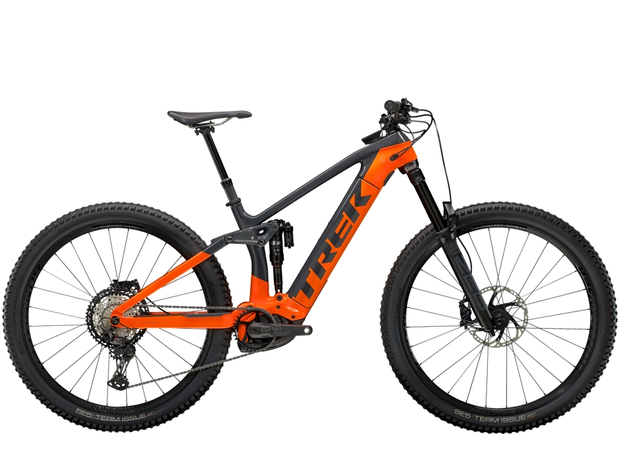 Trek Rail 9.8 XT XL Solid Charcoal/Radioactive Orange