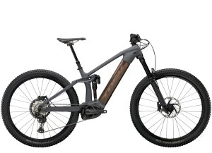 Trek Rail 9.8 XT S Solid Charcoal to Root Beer Ano Decal