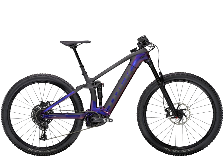Trek Rail 9.7 M Gloss Purple Phaze/Matte Raw Carbon