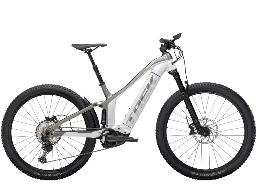 Trek Powerfly FS 7 M (29  wheel) Crystal White/Metallic Gunmetal