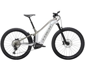 Trek Powerfly FS 7 XL (29  wheel) Crystal White/Metallic Gunmetal