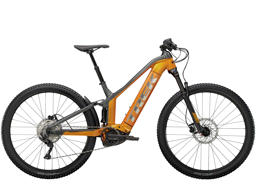 Trek Powerfly FS 4 625 M (29  wheel) Factory Orange/Lithium Grey