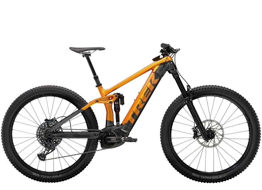 Trek Rail 9 M Factory Orange/Lithium Grey