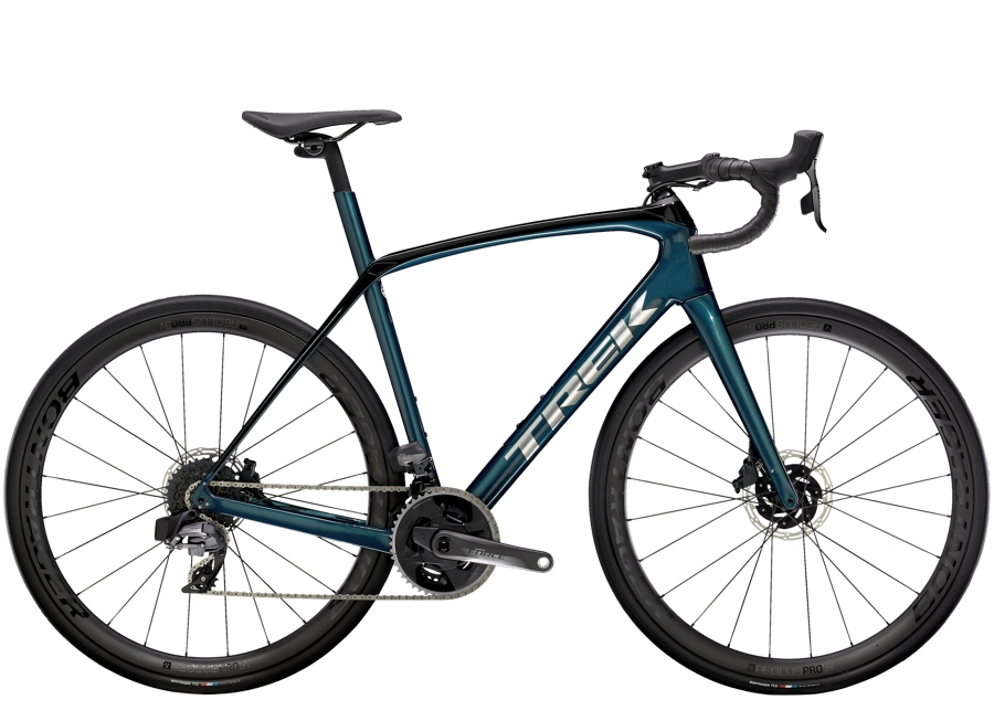 Trek Domane SL 7 eTap 62 Dark Aquatic/Trek Black