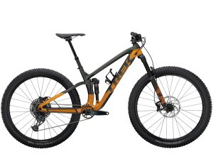 Trek Fuel EX 9.7 XL (29  wheel) Lithium Grey/Factory Orange
