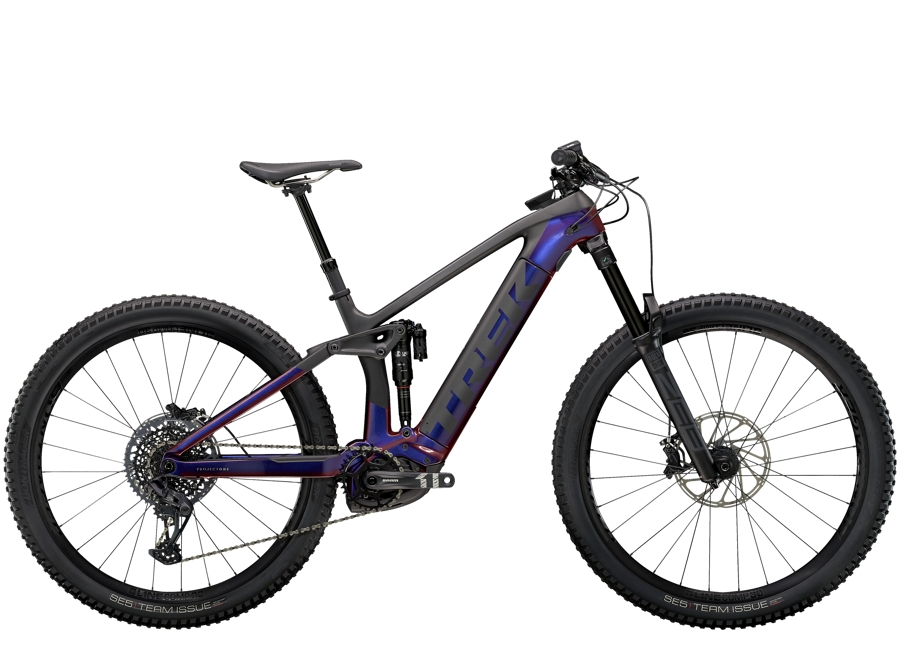 Trek Rail 9.8 M Gloss Purple Phaze/Matte Raw Carbon
