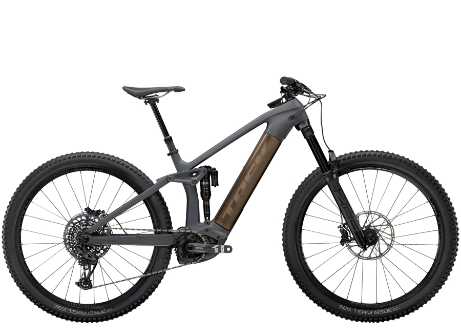 Trek Rail 9.8 S Solid Charcoal to Root Beer Ano Decal