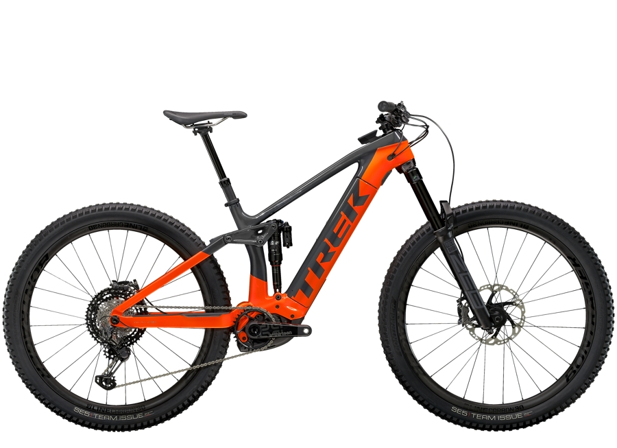 Trek Rail 9.9 XTR L Solid Charcoal/Radioactive Orange