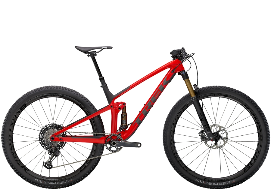 Trek Top Fuel 9.9 XTR M Gloss Red/Matte Carbon Smoke