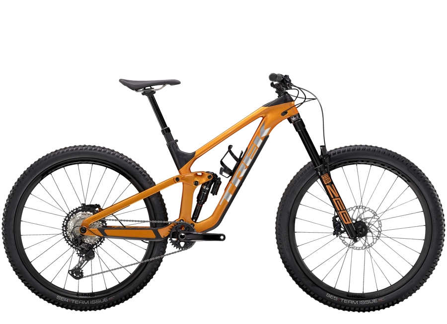 Trek Slash 9.8 XT L (29  wheel) Factory Orange/Carbon Smoke